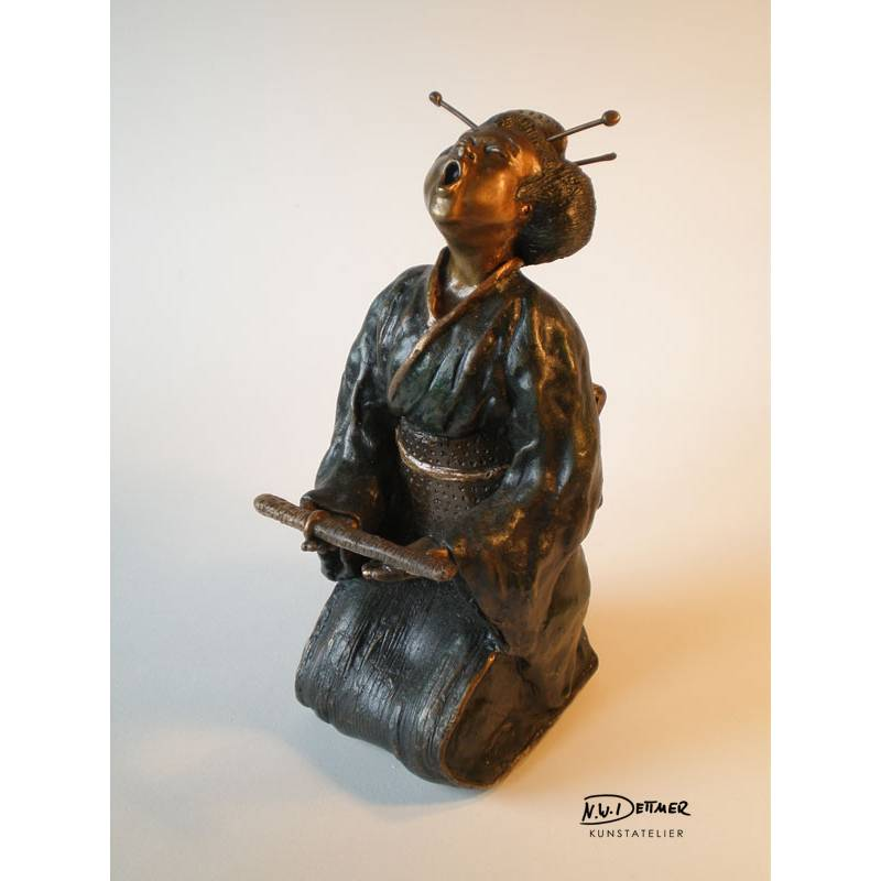Mm. Butterfly · Bronze · 9 x 22 cm
